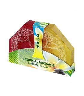 Savon Tropical Massage fait main
