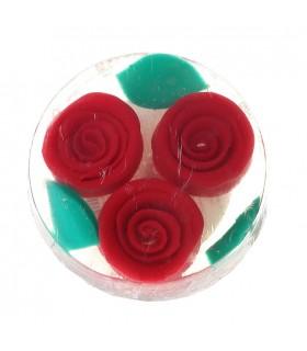 Savon Rose Fantasy à la glycérine rouge 100 g
