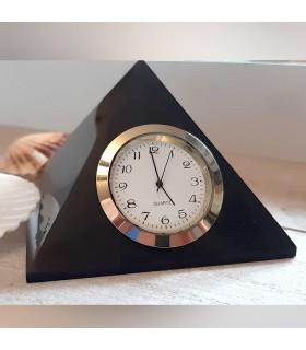 Pyramide Horloge en Shungite