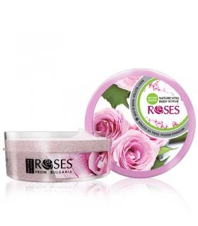 """Gommage doux visage et corps """"Elixir de rose"""" 200 ml"""