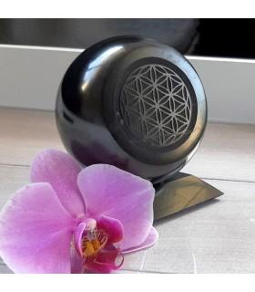 """Sphère """"Fleur de Vie"""" avec support"""