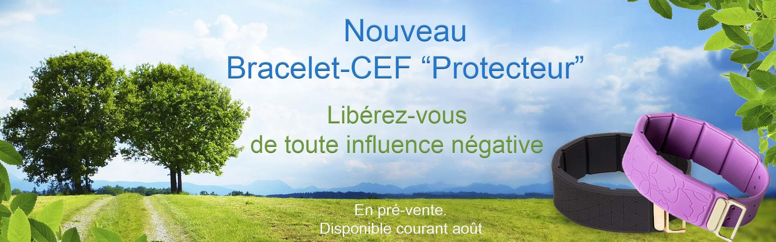 """Bracelet CEF """"Protecteur"""""""
