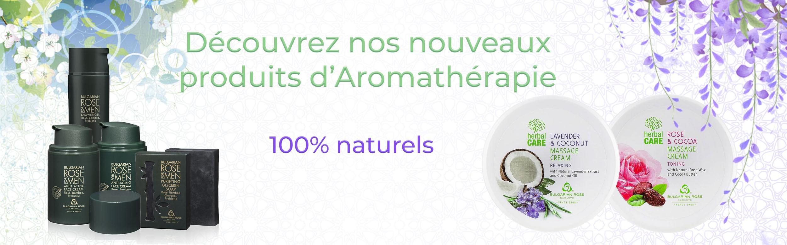 Nouveaux produits d'Aromathérapie
