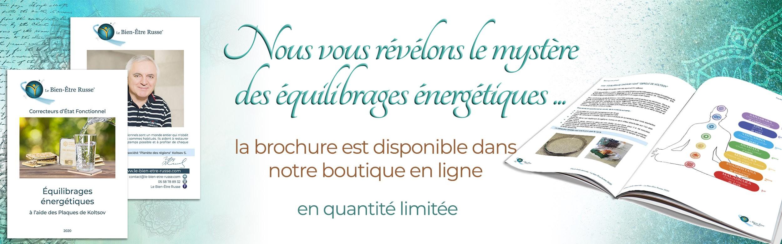 Brochure Equilibrage énergétique